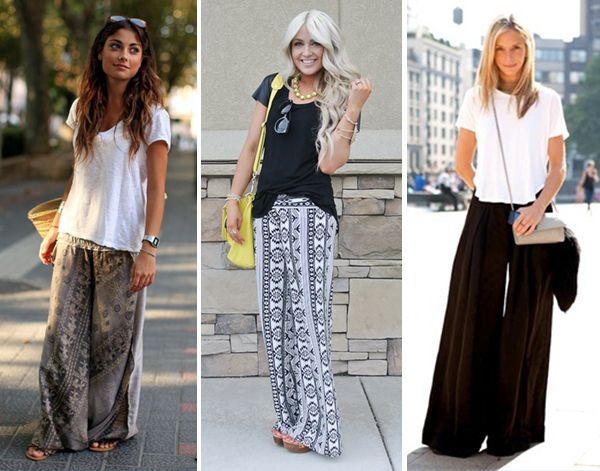 The Casual Palazzo Pants Look