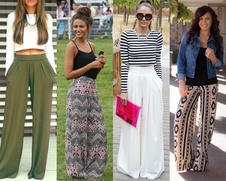 The Cute Palazzo Pants Look