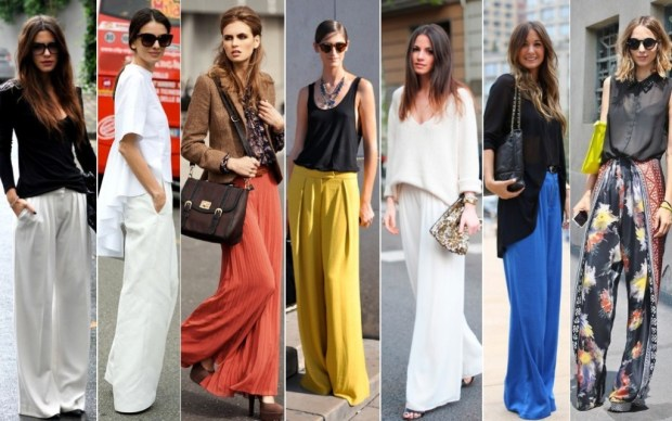 The Sophisticated Palazzo Pants Look
