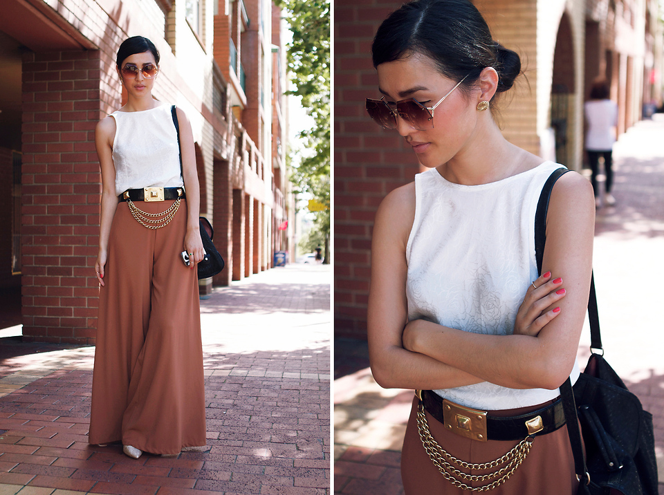 The Vintage Palazzo Pants Look